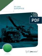 Cables de Acero Para Mineria de Superficie