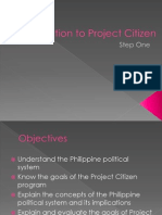 Introduction to Project Citizen