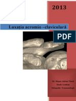 Luxaţia Acromio–Claviculară Dr Gheorghevici T Ştefan