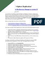 VMware SRM Installlation