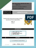Recuento Mínimo de Leucocitos Para Realizar La Fórmula Leucocitaria en Frotis de Sangre Periférica