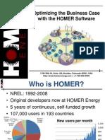 HOMER Irvine Workshop