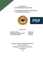 Tb PAM Kabupaten Balangan 2013