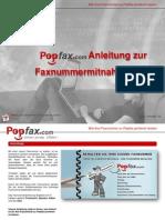 Wie Ihre Faxnummer Zu Popfax Portieren Lassen