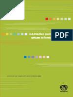 Innovative Policies for the Urban Informal Economy