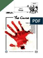 Novel the Curse Form 5