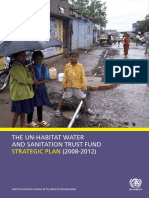 Strategic Plan for the UN-Habitat Water and Sanitation Trust Fund 2008-2012