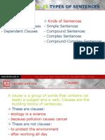 Sentences Types