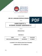 Assignment 1 Bri 3053