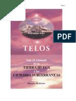 TELOS. Tierra Hueca y Las Ciudades Subterraneas
