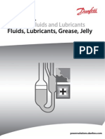 Hydraulic Fluids and Lubricants Fluids, Lubricants, Grease, Jelly