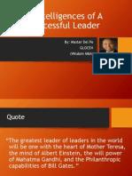 5 Intelligences of Successful Leaders