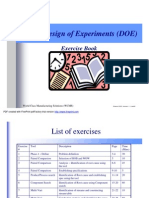 DOE Exercise Book