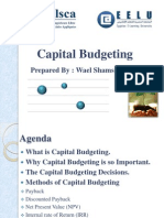 Capital Budgeting presentation