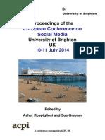 ECSM2014 Proceedings Dropbox