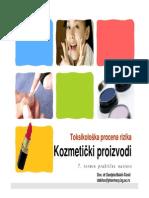 Toksikološka Procena Rizika_kozmetički Proizvodi_vežbe
