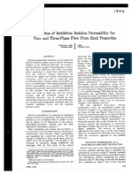 SPE-1942-Calculation of Imbibition Relative Permeability for Two and Three Phase Flow