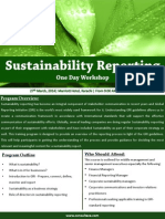 Sustainability Reporting Brochure