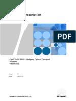OptiX OSN 6800 Hardware Description (V100R003)