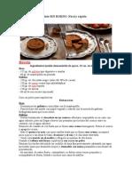 Tarta de Puro Chocolate SIN HORNO