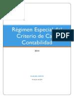Régimen Especial Criterio de Caja Contabilidad