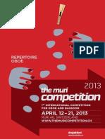 TMC2013 RepertoireOboe En