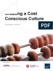 Creating a Cost Conscious Culture