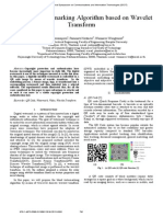 [17]QR Code Watermarking Algorithm based on Wavelet Transform