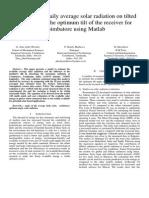 Manuscript - Prediction of Daily Average Solar Radiation