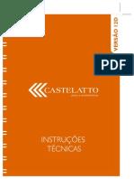 Piso Catelatto Folheto Instruções Sequência 12D