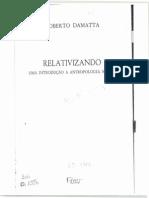 DaMatta,Roberto Relativizando Fabula Tres Racas