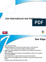 Zee International Haldirams