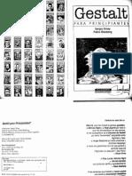 164786760 Gestalt Para Principiantes Sergio Sinay PDF
