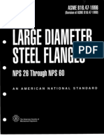ASME B16.47-1996 LARGE DIAMETER STEEL FLANGES