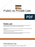 public vs private law