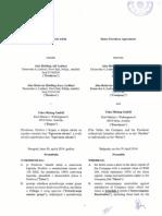 Ugovor o Kupoprodaji Udela 30Apr2014 Share Purchase Agreement
