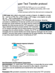 HTTP- Hyper Text Transfer Protocol
