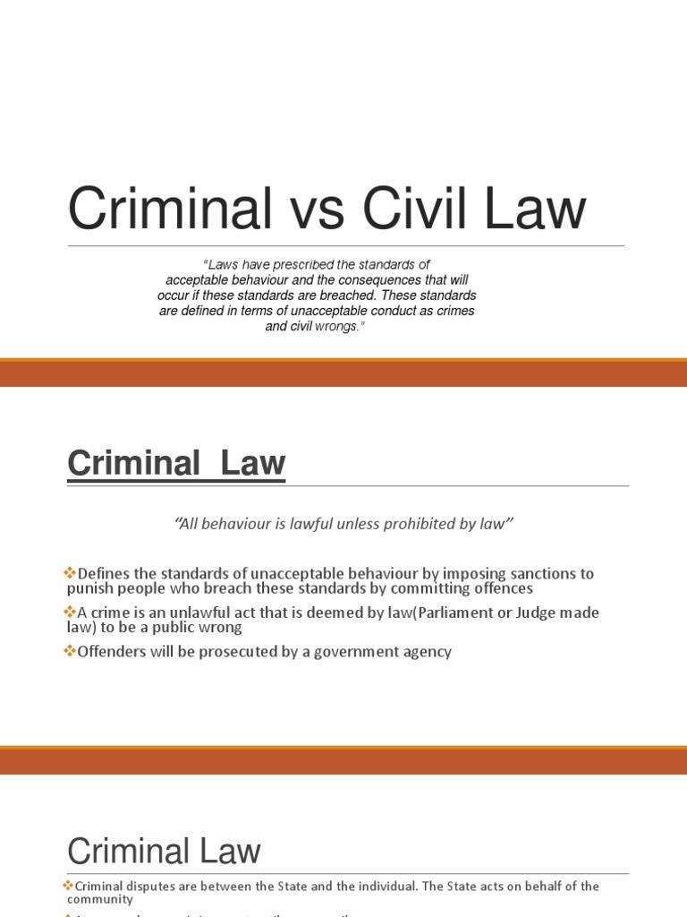 Terms in civil law