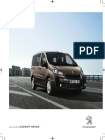 Peugeot Expert Tepee Range Brochure