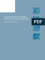 RUSI Annual Report 2013-2014