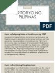 Teritoryo Ng Pilipinas