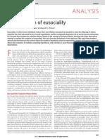 Nowak Etal - Evolution of Eusociality - Nature 2010