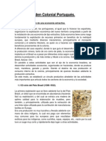 Guia Orden Colonial Portugues e Ingles