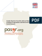 Gender Barriers Scoping Paper Final
