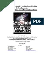 Legal and Economics Implications of Orbital  Debris Removal
