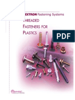 Threaded Fasteners for Plastics