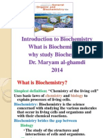 2.Introduction to Biochemistry.