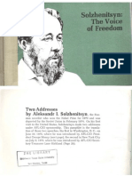 Solzhenitsyn - The Voice of Freedom [1975]