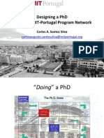 Designing a PhD
