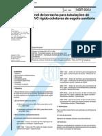 nbr 9051 - anel de borracha para tubulacoes de pvc rigido coletores de esgoto sanitario_1.pdf